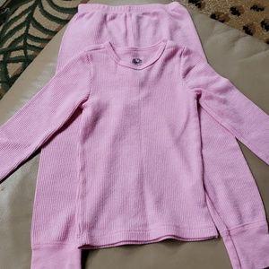 Pink Thermal Underwear XS (4/5)
